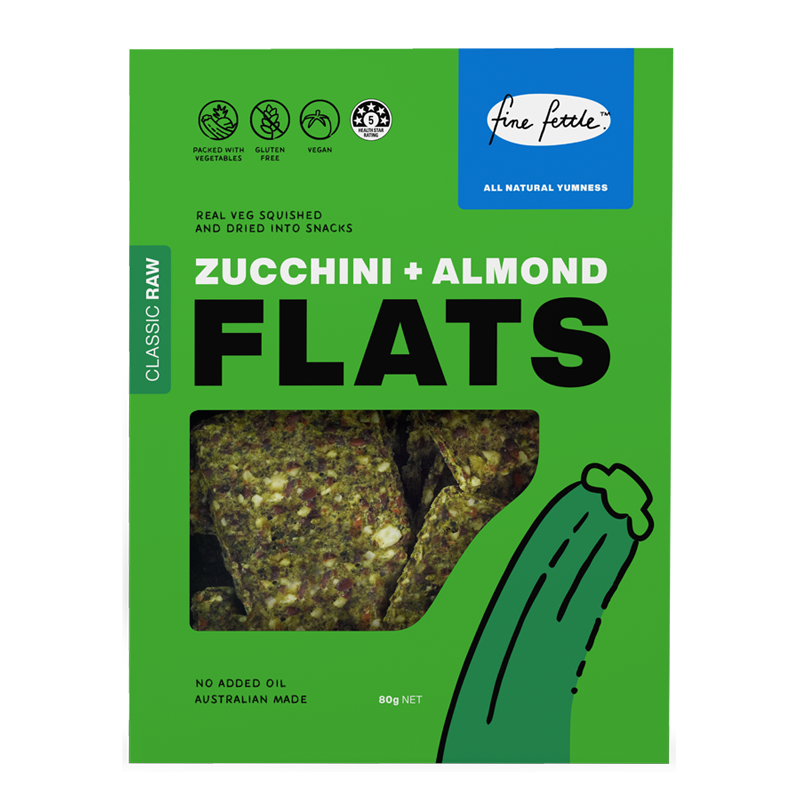 Zucchini & Almond Flats - Healthy Snacks