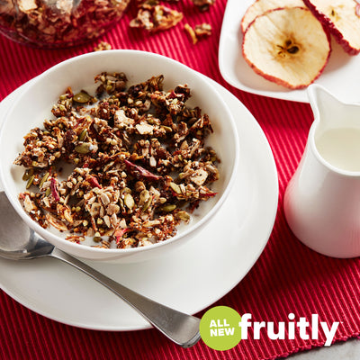 FRUITLY Apple & Sultana Granola