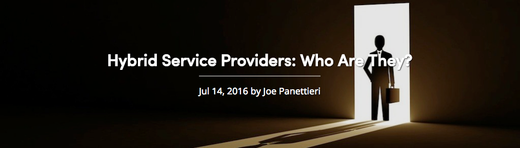 Hybrid Service Providers: Who Are They?