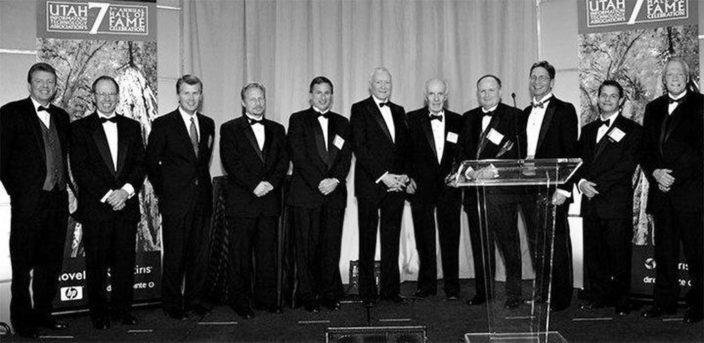 Utah Technology Council Hall Of Fame Then & Now