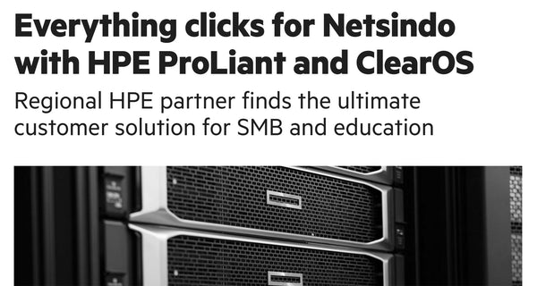 New HPE ClearOS Case Study: Netsindo
