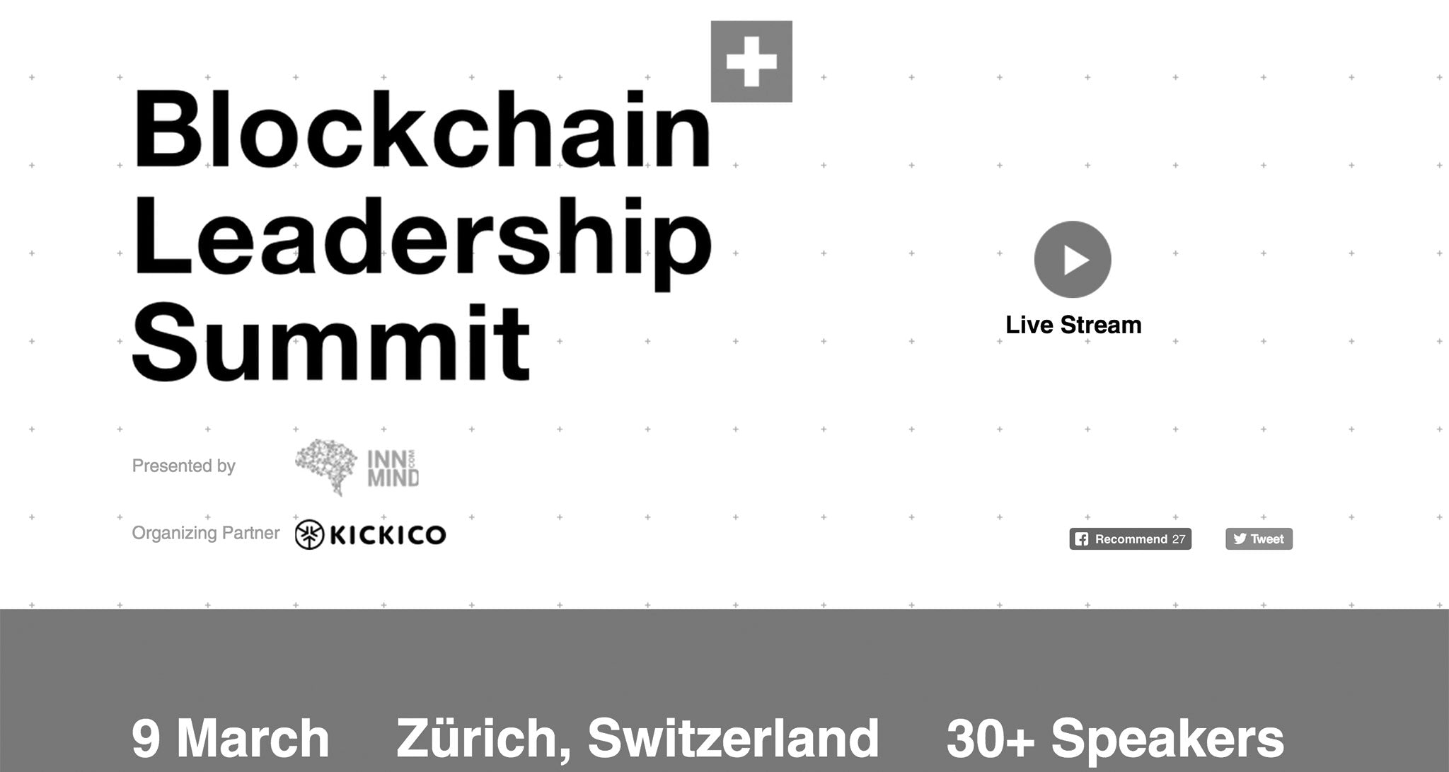 ClearFoundation to Present at Blockchain Leadership Summit 2018 March 9