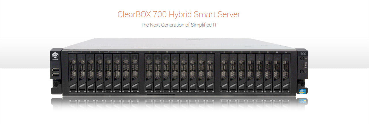 Introducing the all new ClearBOX 700 Series Hybrid Smart Server
