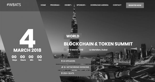 ClearFoundation to Present at World Blockchain and Token Summit March 4-5