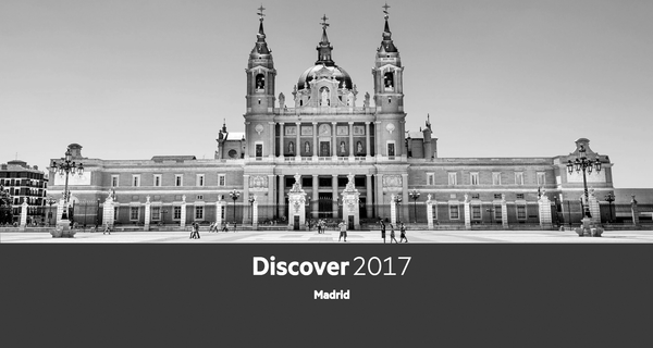 Come See Us at HPE Discover 2017 Madrid