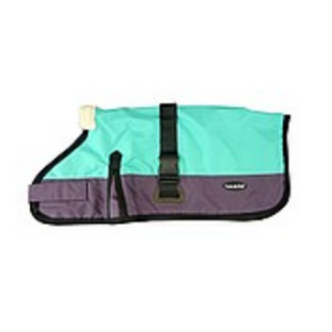 Waterproof Dog Coat 3009-B - Teal/ Purple (for Big Dogs) - Coco & Pud