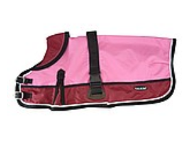 Waterproof Dog Coat 3022 - Red/ Pink - Coco & Pud