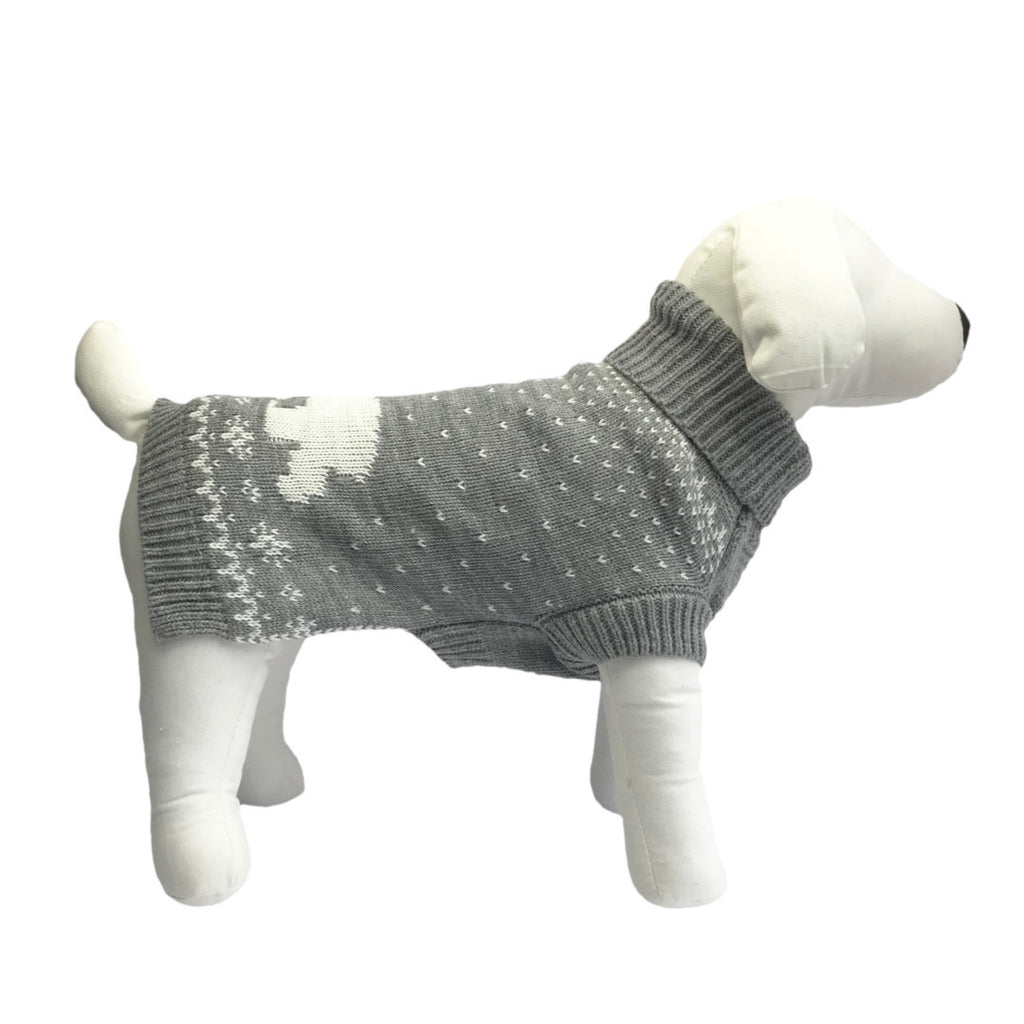 Coco & Pud Arctic Pup Dog Sweater
