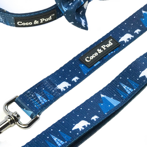 Coco & Pud Arctic Pup Reversible Dog lead/ Leash