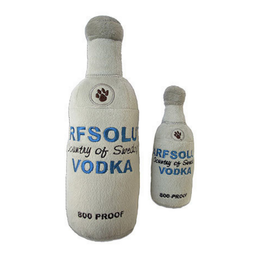 Arfsolute Vodka Dog Toy - Coco & Pud