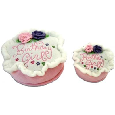 Birthday Cake Girl Dog Toy - Coco & Pud