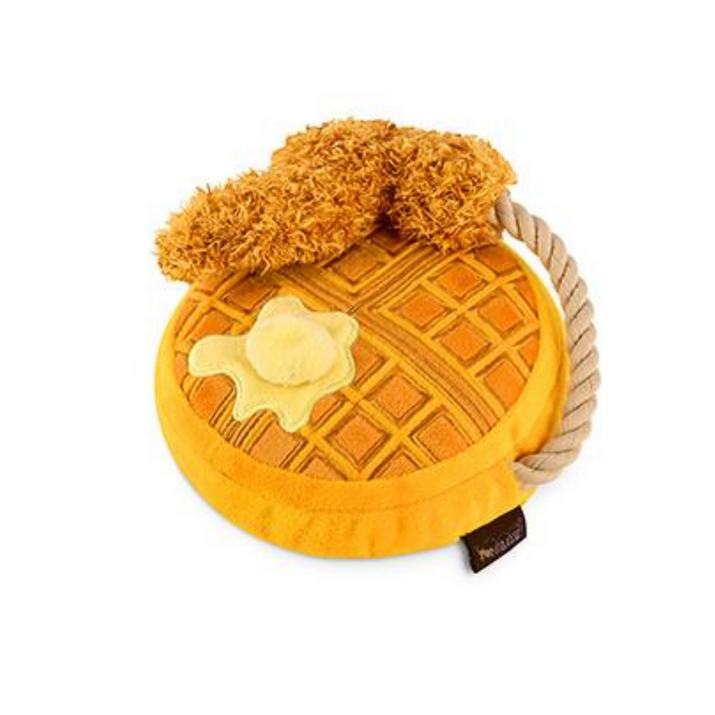 Coco & Pud Barking Brunch Chicken & Woofles Dog Toy