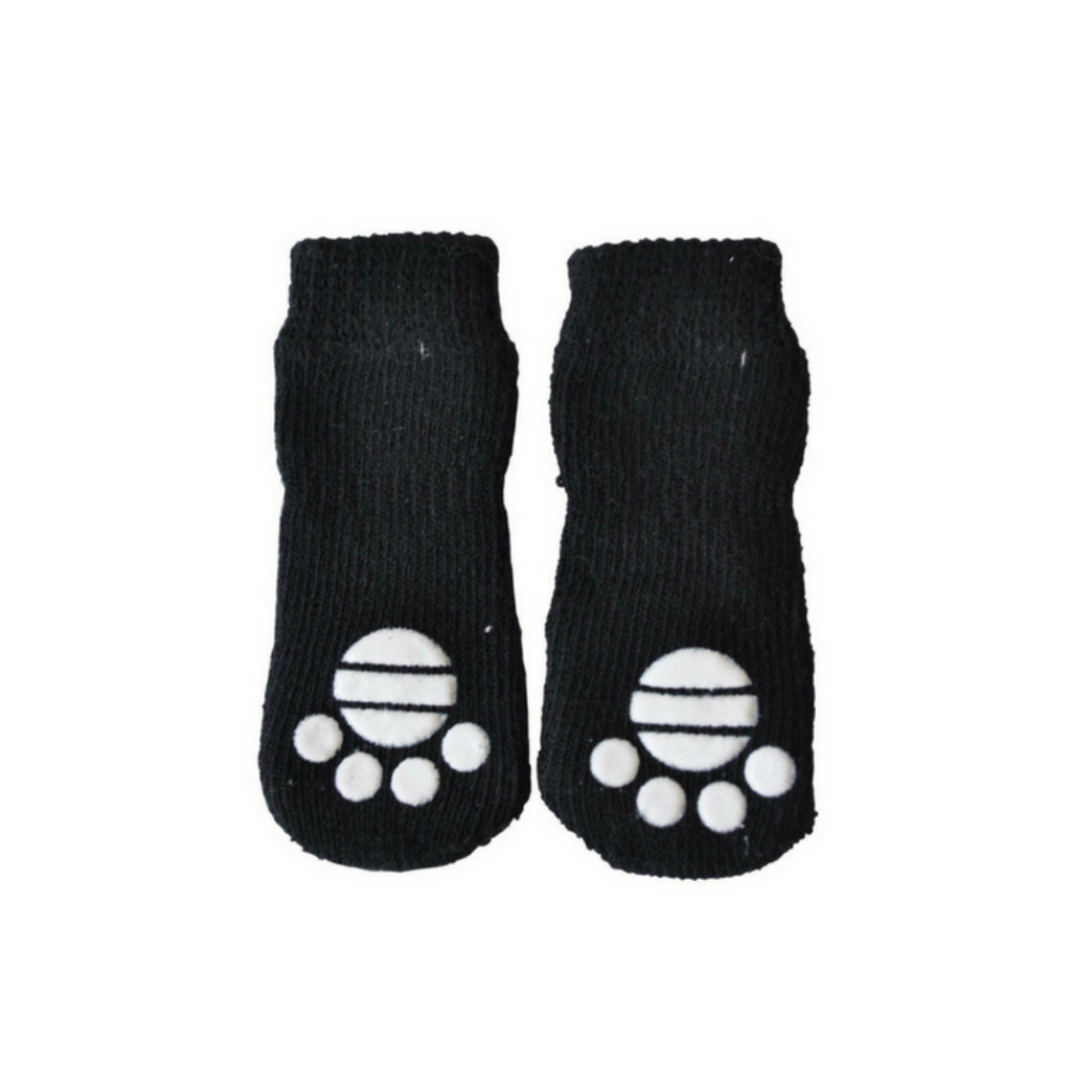 Coco & Pud Pet Socks - Black - Coco & Pud
