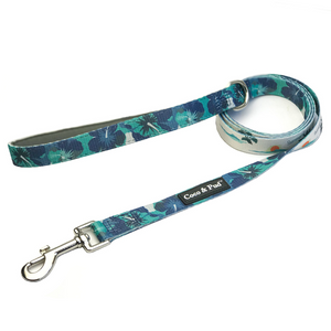 Coco & Pud Camo Hibiscus Dog Leash/Lead