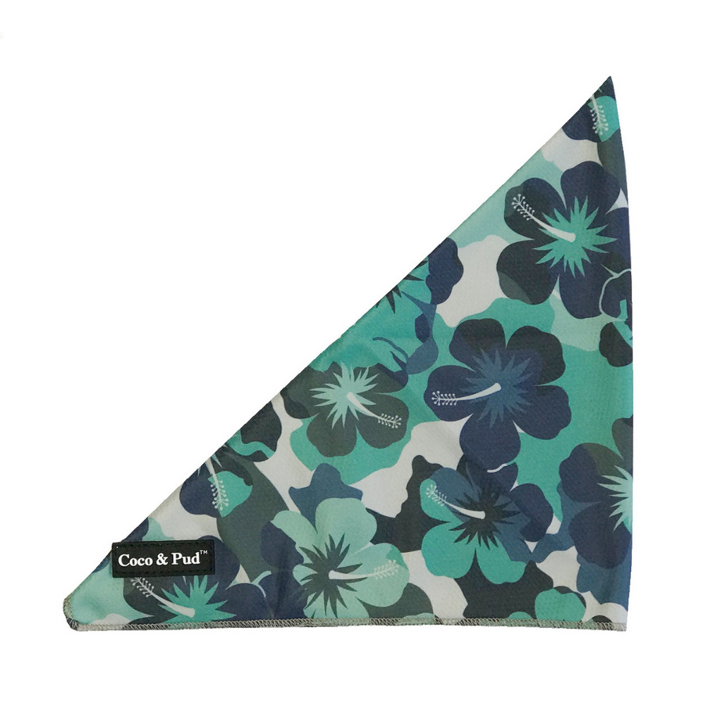 Camo Hibiscus Bandana (Expected Mid November)