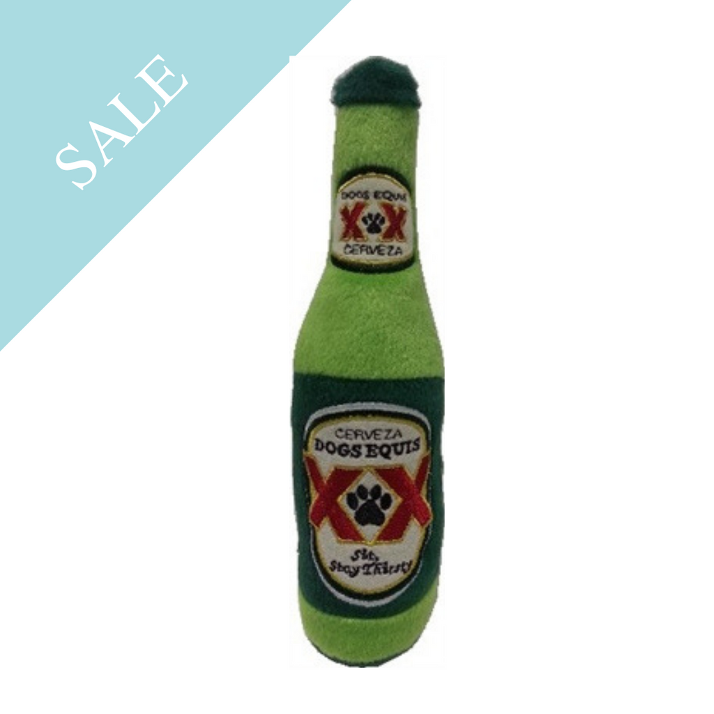 Coco & Pud Cerveza Dogs Equis Dog Toy
