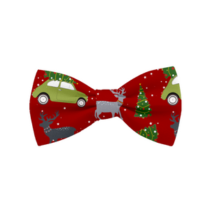 Coco & Pud Christmas Cat Collar & Bowtie