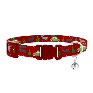 Coco & Pud Christmas Cat Safety Collar