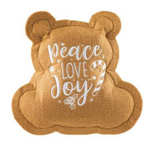 Wagnolia Bakery Christmas Bear Cookie Dog Toy - Coco & Pud