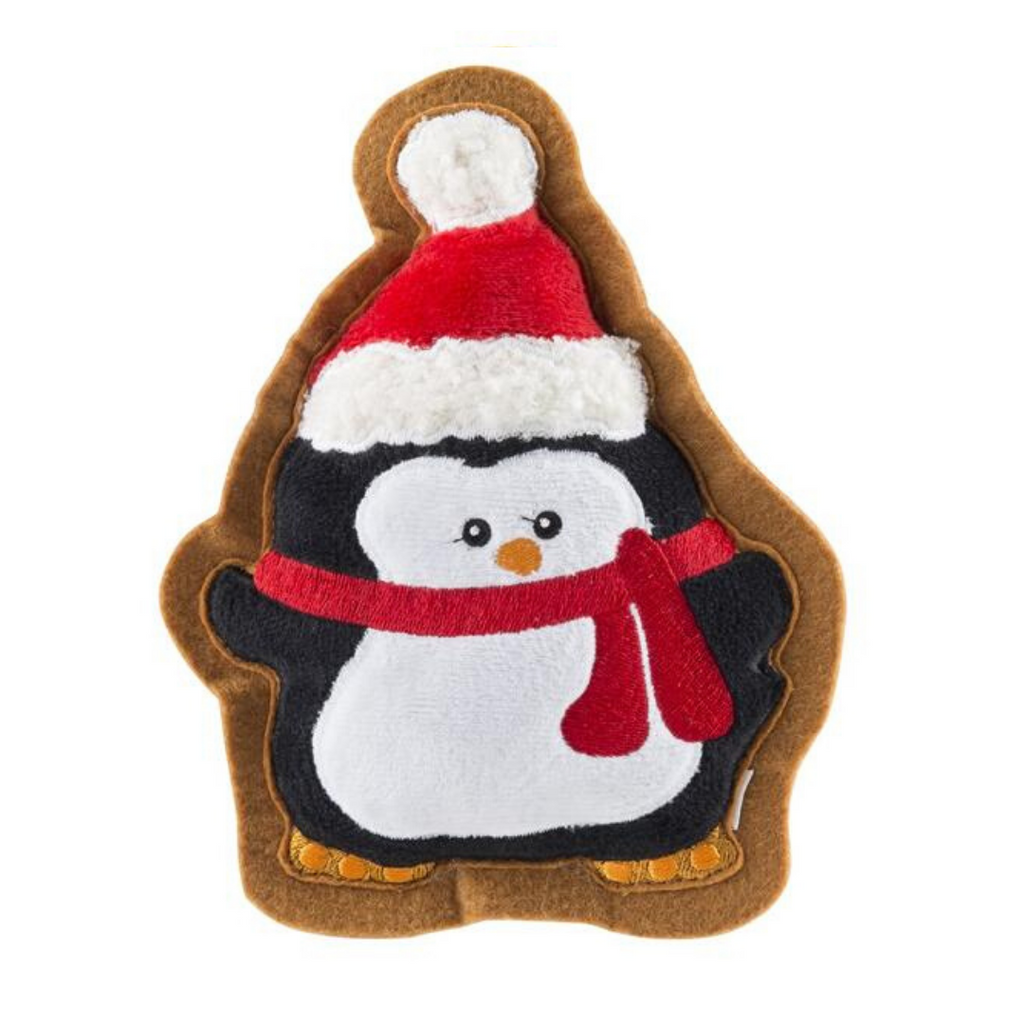 Wagnolia Bakery Christmas Penguin Cookie Dog Toy