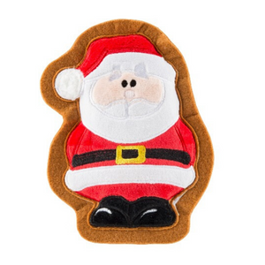 Wagnolia Bakery Christmas Santa Claus Cookie Dog Toy - Coco & Pud