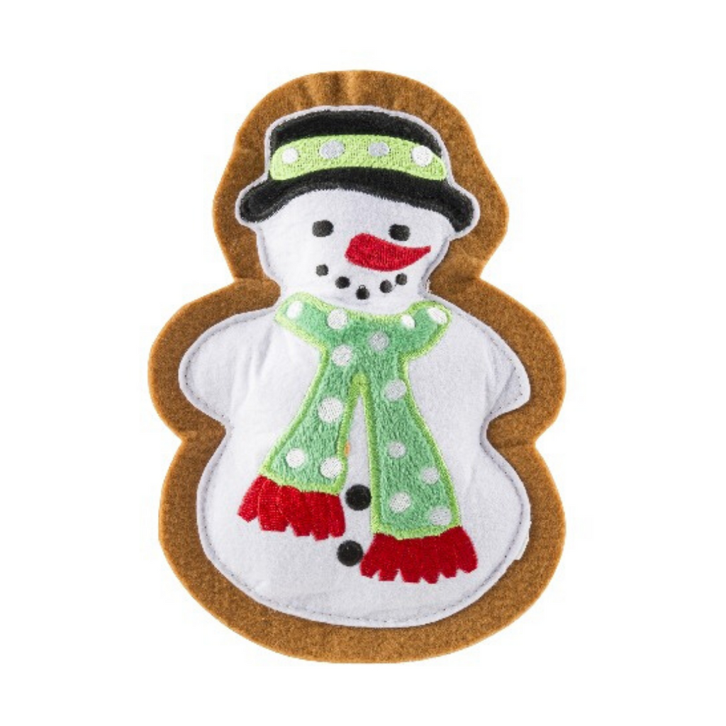 Wagnolia Bakery Christmas Snowman Cookie Dog Toy