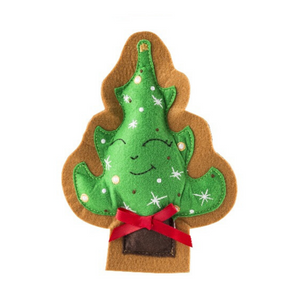 Wagnolia Bakery Christmas Tree Cookie Dog Toy - Coco & Pud