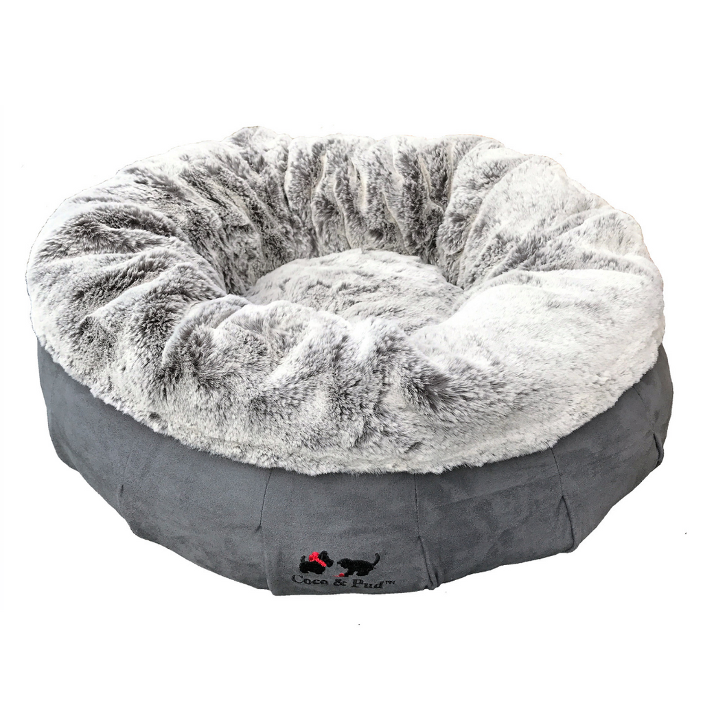Coco & Pud Coco Luxe Bed - Stone Grey
