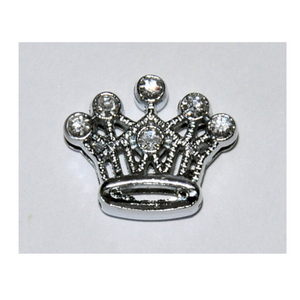 Crystal Crown Collar Slide Charm - Coco & Pud