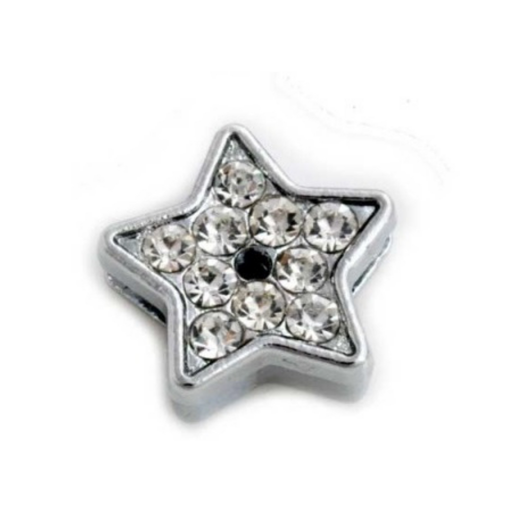 Crystal Star Collar Slide Charm - Coco & Pud
