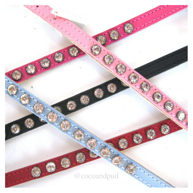 Coco & Pud DOGUE Coco with Crystals Cat Collar