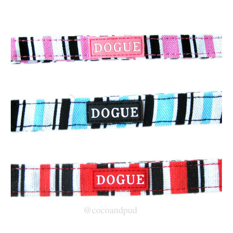 Coco & Pud DOGUE Striped Dog Collar