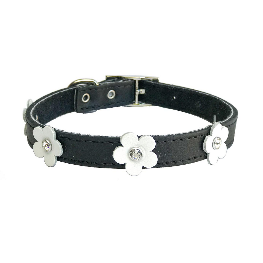 Coco & Pud - Dogue Foxy Dog Collar - Black