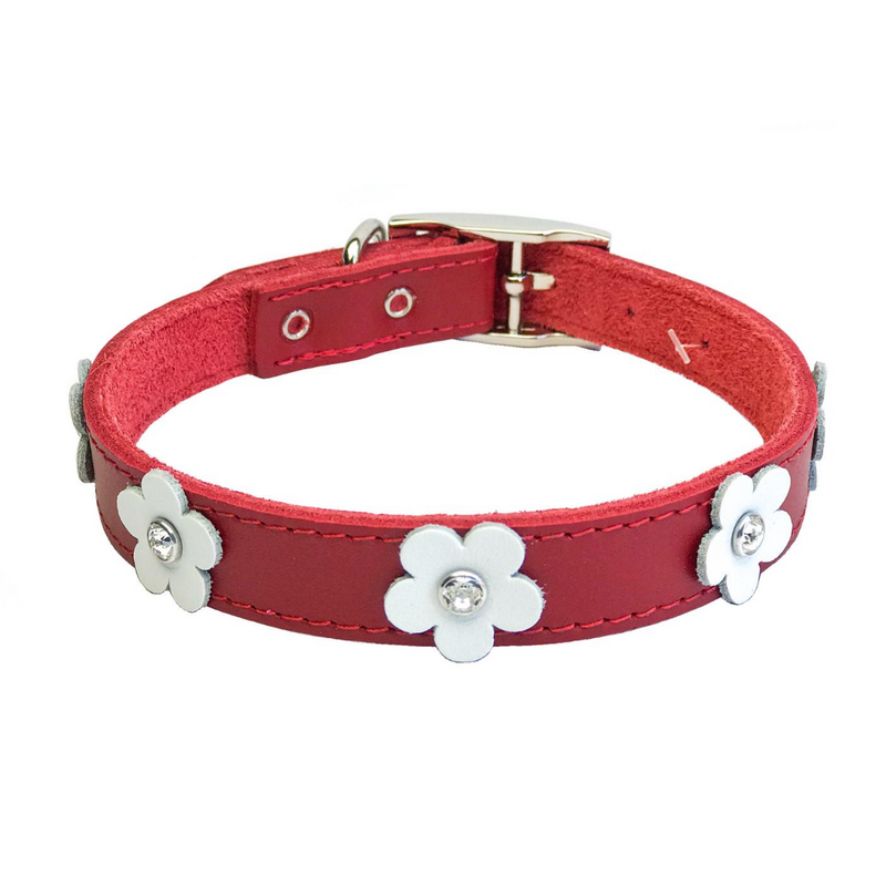 Coco & Pud - Dogue Foxy Dog Collar - Red