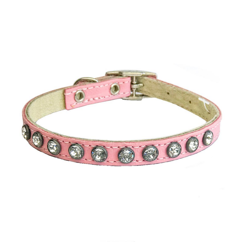 Dogue Glamour Puppy Collar - Pink