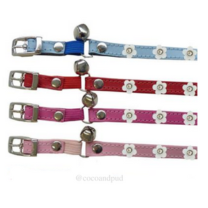 DOGUE Coco Cat with Flowers Collar - Coco & Pud