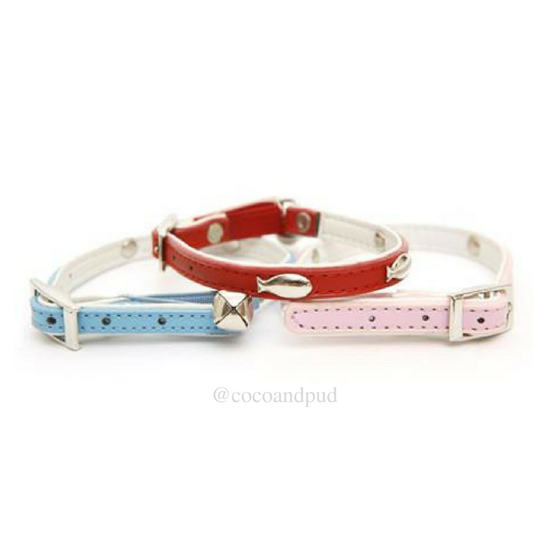 Coco & Pud DOGUE Fish Cat Collar