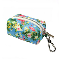 Coco & Pud Flamingo Tropical Waste Bag Holder