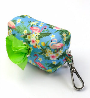 Coco & Pud Flamingo Tropical Waste Bag Holder - Coco & Pud