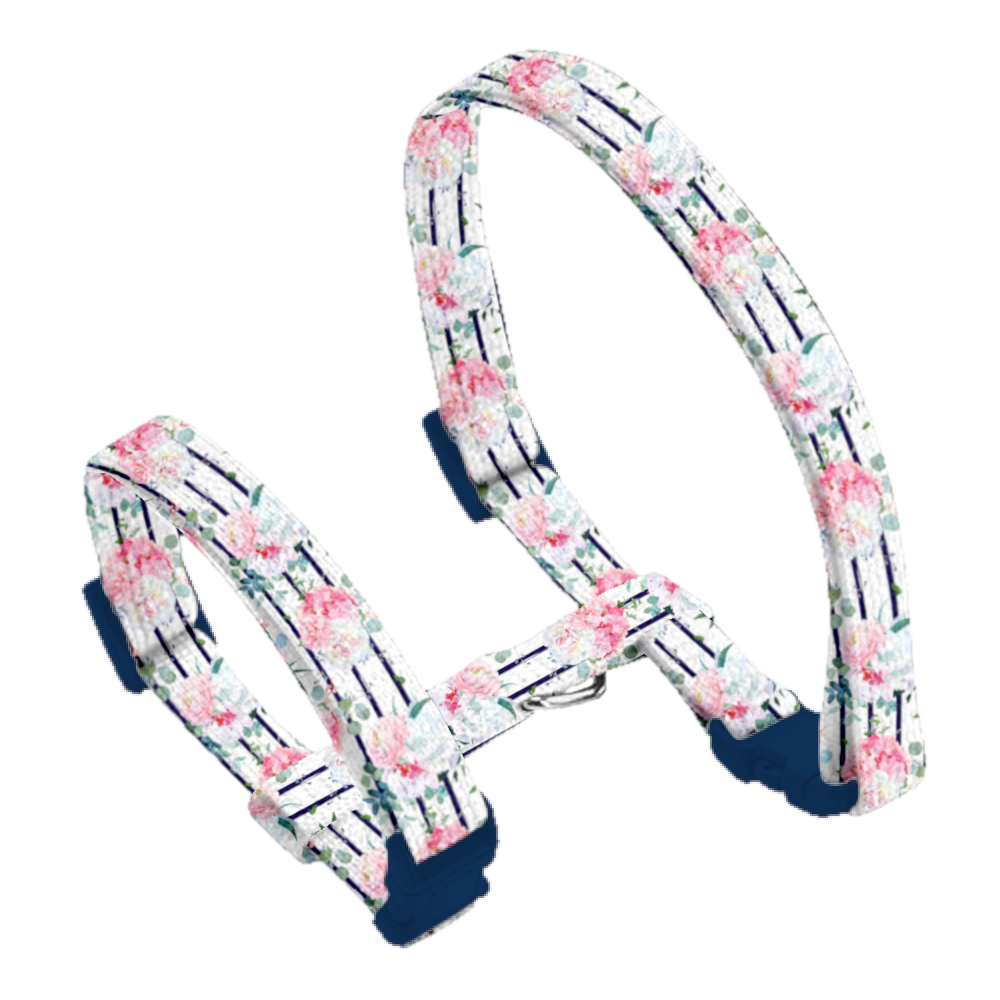 Coco & Pud Floral Blooms Cat Harness