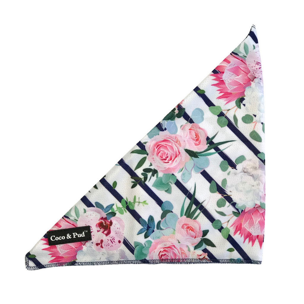 Coco & Pud Floral Blooms Bandana