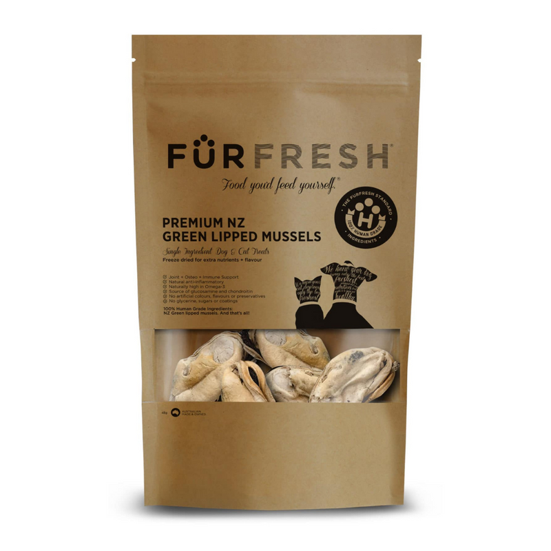 Furfresh Prenium NZ Mussels Pet Treats