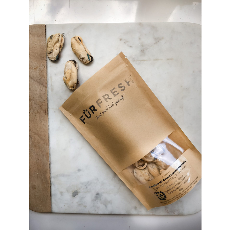 Furfresh Premium NZ Mussel Pet Treats