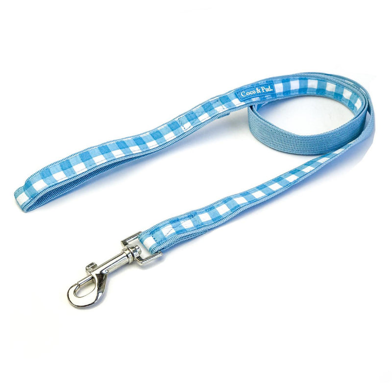 Coco & Pud Gingham Dog Lead