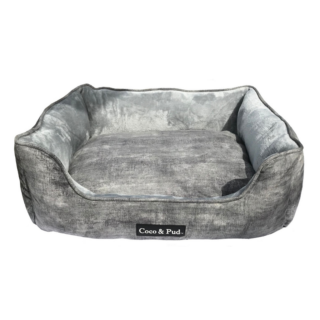 Greenwich Luxe Lounge Bed - Stone - Coco & Pud