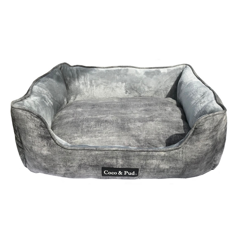 Coco & Pud Greenwich Luxe Lounge Bed - Stone - Coco & Pud