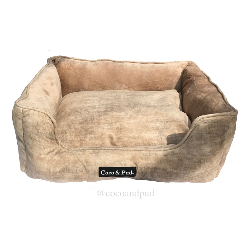 Greenwich Luxe Lounge Bed - Coffee - Coco & Pud
