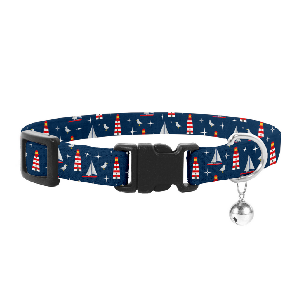 Coco & Pud Hamptons Cat Safety Collar