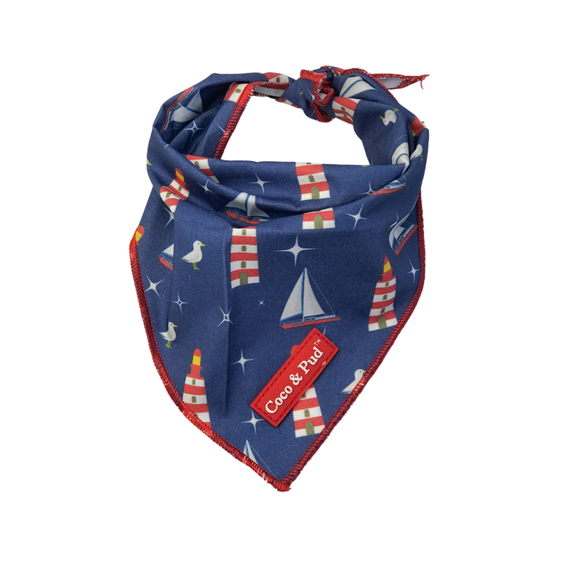 Coco & Pud Hamptons Cotton Bandana