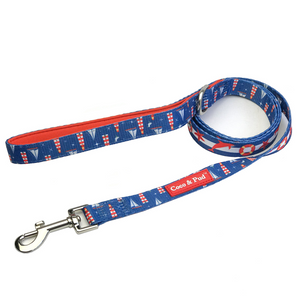 Coco & Pud Hamptons Reversible Dog Leash/ Lead